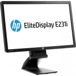 "HP EliteDisplay E231 - LED monitor - Full HD (1080p) - 23"".Lietots A klase"