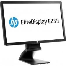 "HP EliteDisplay E231 - LED monitor - Full HD (1080p) - 23"".Lietots A klase"