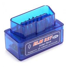 Mini ELM327 Bluetooth OBD2 OBDII ELM 327 V2.1 Automašīnas diagnostikas ierīce.Atbalsta  Android,Windows,iOS operētājsistēmas.