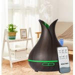 KBAYBO 400ml electric Ultrasonic Aroma Air humidifier Essential Oil Diffuser