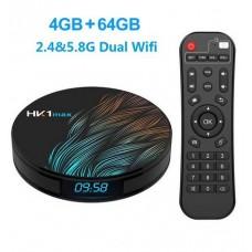 TV Box HK1 Max Smart Android 9.0 RK3328 1080p 4K Wifi