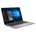 "Asus VivoBook Flip 14 Grey, 14"" FHD Touch, Core i5-7200U, 4GB, 128GB SSD, Windows 10 Home, Eng kbd"